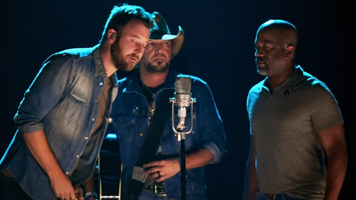 See Jason Aldean, Darius Rucker Sing for Gregg Allman at CMT Awards