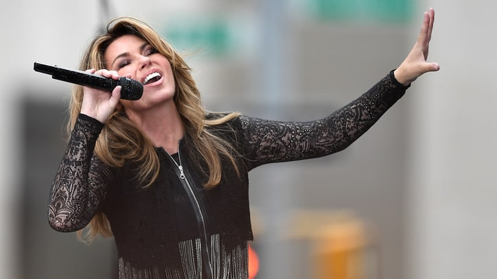 See Shania Twain Perform Two New Songs on 'Today'