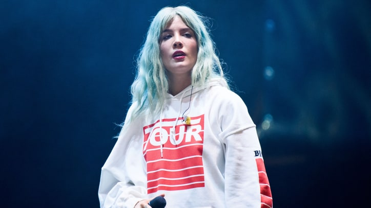 Watch Halsey Elude Lawmen in Crafty 'Bad at Love' Video