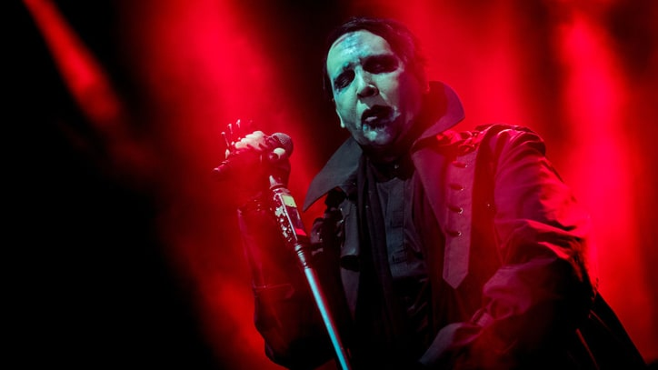 Marilyn Manson Crushed by Stage Prop, Cuts New York Show Short