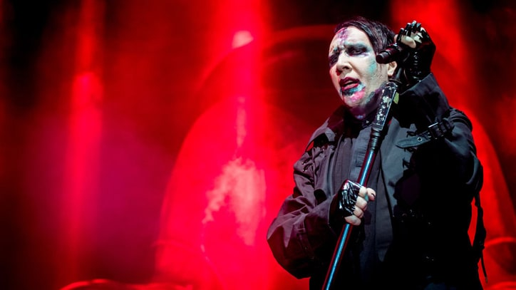 Marilyn Manson: Assault Rifle Stunt 'Not Meant to be Disrespectful'