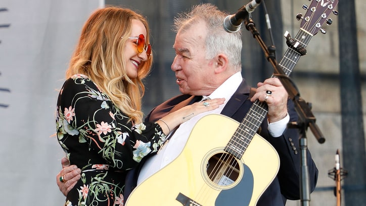 See John Prine, Margo Price's Charming Duet at Newport Folk Festival