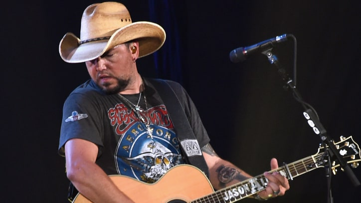 See Jason Aldean Honor Troy Gentry With Montgomery Gentry Cover