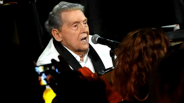 Jerry Lee Lewis Defies Age at All-Star Tribute Show