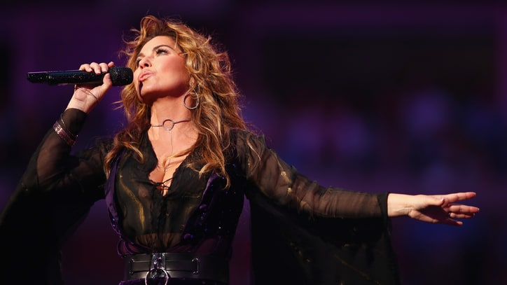 Watch Shania Twain's Energetic Medley at the U.S. Open