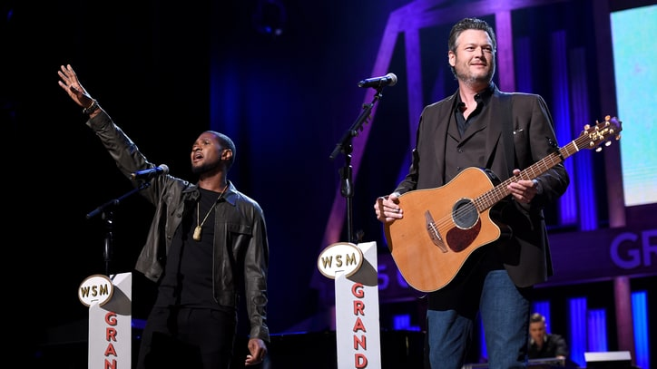 Watch Usher, Blake Shelton's Moving 'Stand By Me' Duet for Hurricane Relief