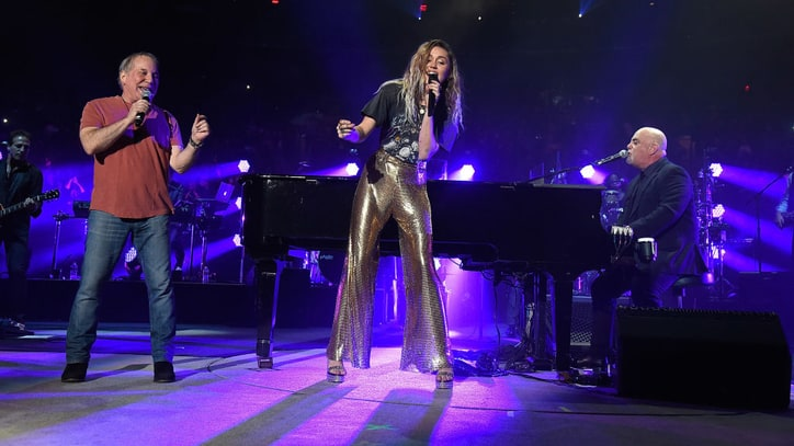 Billy Joel Duets With Miley Cyrus, Paul Simon at Epic MSG Show