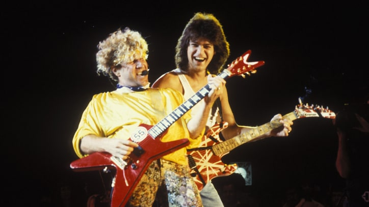 Eddie Van Halen and Sammy Hagar's First Live Performance: Flashback