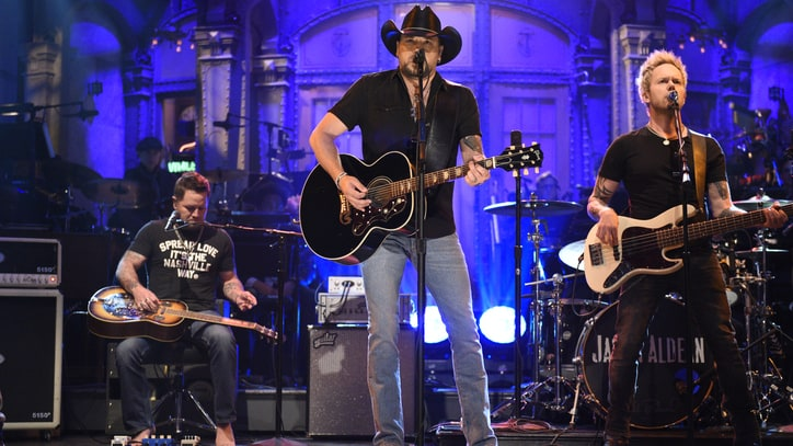 See Jason Aldean Address Las Vegas Shooting, Cover Tom Petty on 'SNL'