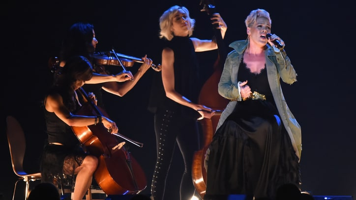 See Pink's Masterful Performance of 'Barbies' at 2017 CMA Awards
