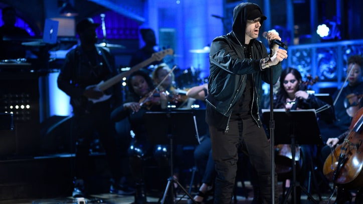 Watch Eminem Deliver Three-Song Medley on 'SNL'