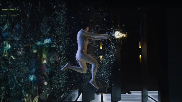 See Explosive First 'Ghost in the Shell' Trailer With Scarlett Johansson