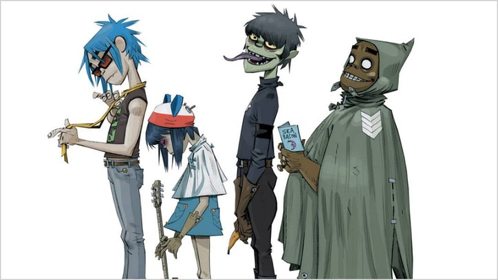 Gorillaz Detail First Album in Six Years, 'Humanz'