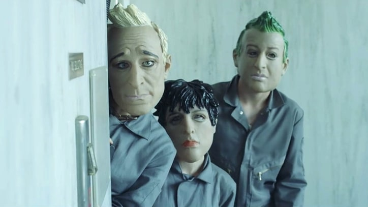 Watch Green Day Host House Party, 'Rob' Bank in 'Bang Bang' Video