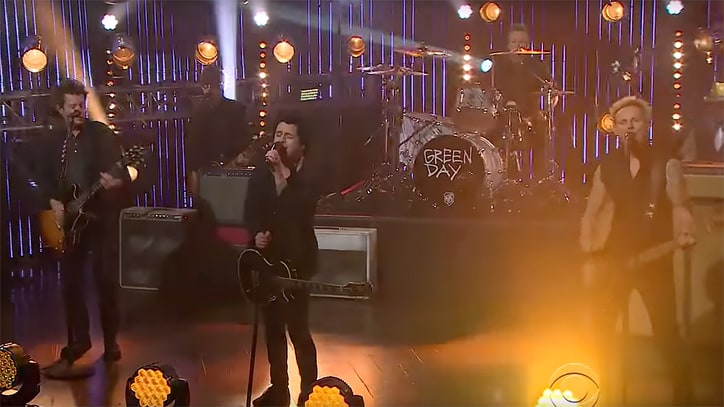Watch Green Day Perform Raucous 'Still Breathing' on 'Corden'