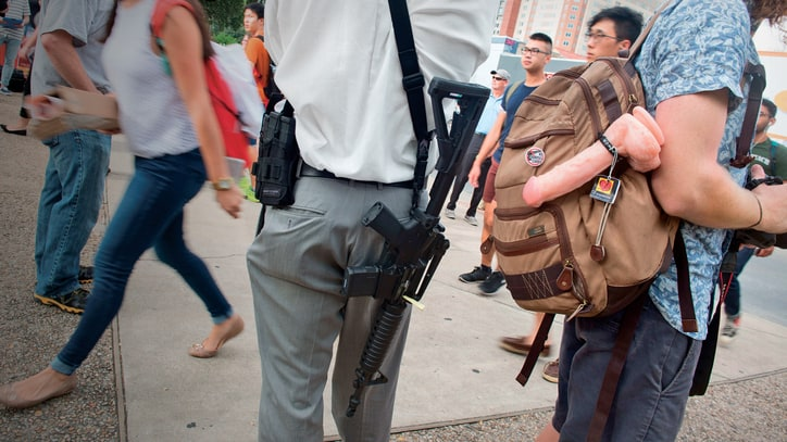 Inside the Fight Over Guns on Campus