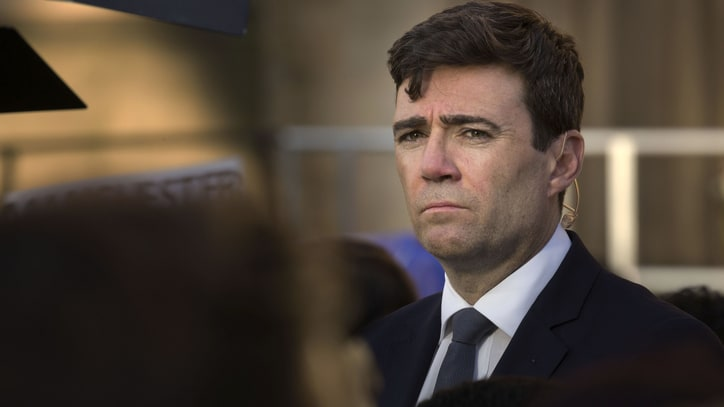 Manchester Mayor Andy Burnham on Arena Reopening: 'It's a Symbol of Defiance'