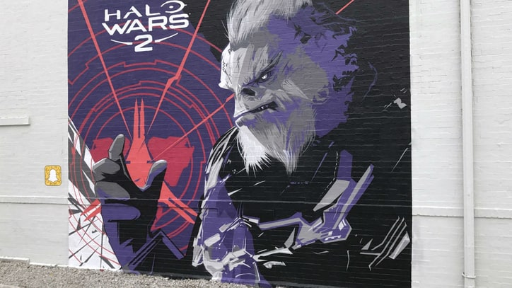Graffiti Artists Create 'Halo Wars 2' Murals in 6 Cities