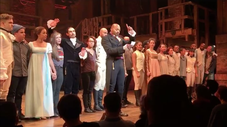 Watch 'Hamilton' Cast's Powerful Plea to Mike Pence