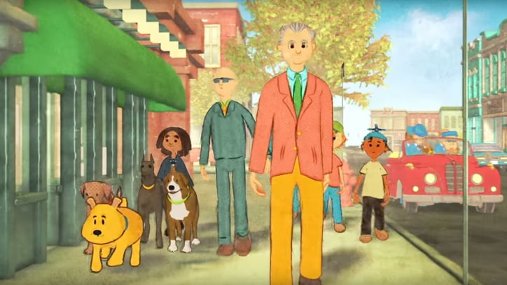 Watch Bill Murray, Paul Shaffer's Gleeful 'Happy Street' Animated Video