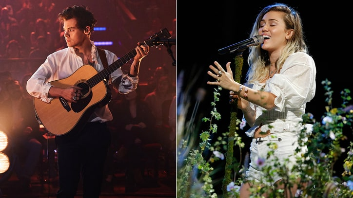 Watch Miley Cyrus, Harry Styles Dedicate Performances to Manchester Victims