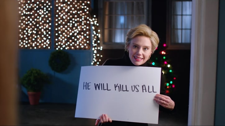 See 'SNL' Parody 'Love Actually' in Hillary Clinton Sketch
