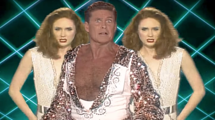 'Guardians of the Galaxy': David Hasselhoff Stars in Retro 'Inferno' Video