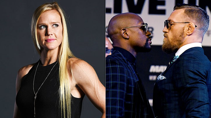 Boxing, UFC Champion Holly Holm Breaks Down Mayweather vs. McGregor