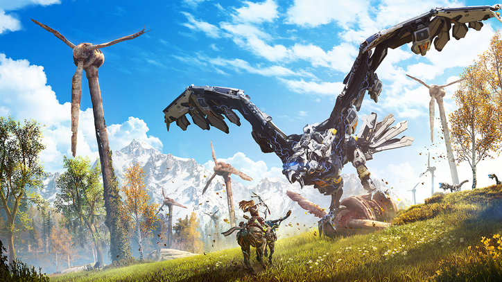 Sci-Fi Epic 'Horizon: Zero Dawn' Channels 'The Witcher 3' and 'Far Cry Primal'