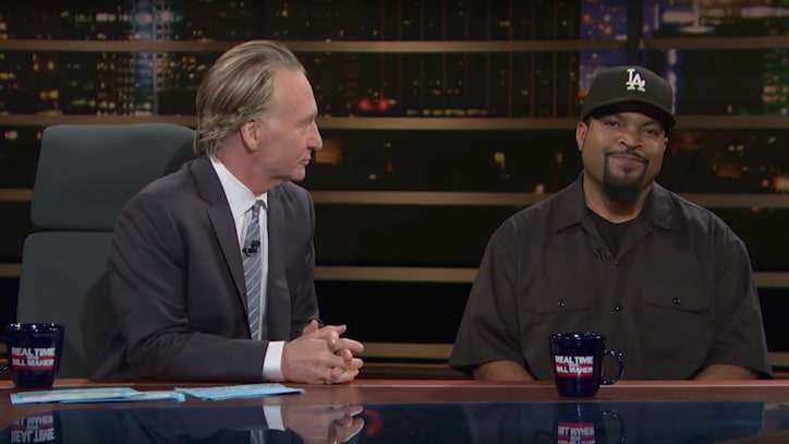 See Bill Maher Address Racial Slur, Get 'Schooled' By Ice Cube