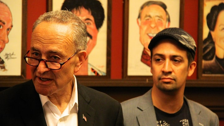 Lin-Manuel Miranda, Chuck Schumer Seek Scalper Crackdown With New Bill