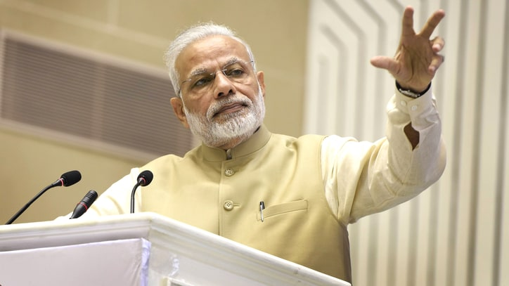 Indian PM Narendra Modi Voted Time Readers' 2016 Person of the Year