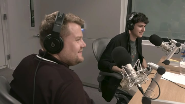 Watch James Corden Crash Vampire Weekend Singer's Beats 1 Radio Show