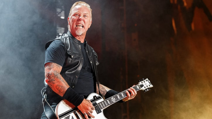 Metallica's James Hetfield 'OK' After Amsterdam Show Fall