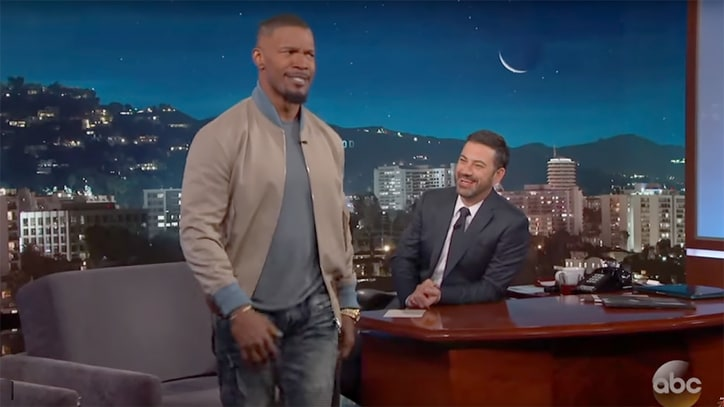Watch Jamie Foxx's Spot-On LeBron James Impression on 'Jimmy Kimmel'