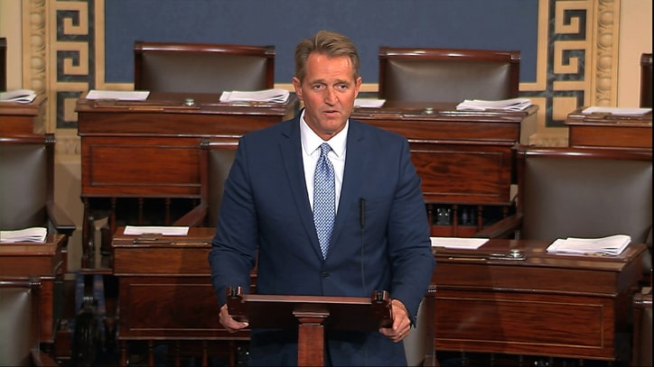 What to Make of Jeff Flake's Retirement, and His Fiery Anti-Trump Speech