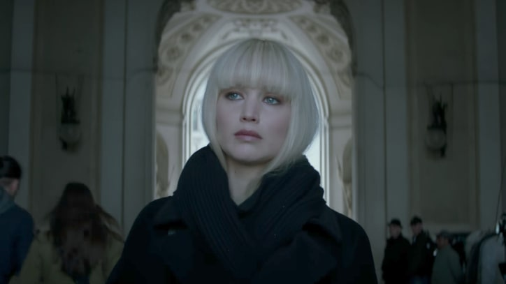 See Jennifer Lawrence as Femme Fatale in New 'Red Sparrow' Trailer