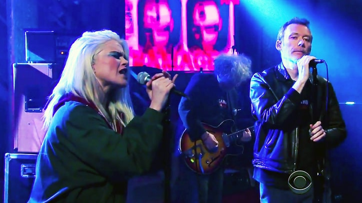 See Jesus and Mary Chain, Sky Ferreira Play 'The Two of Us' on 'Colbert'