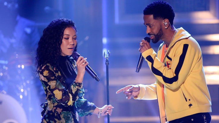 See Jhené Aiko, Big Sean's Tender 'Moments' Duet on 'Fallon'