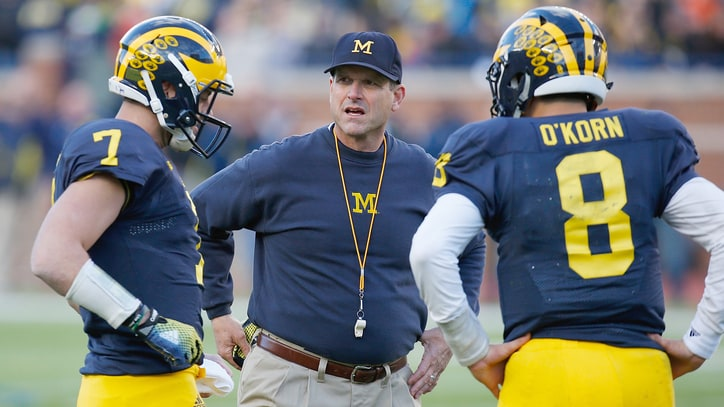 Jim Harbaugh Wants to Make Midwestern College Football Great Again