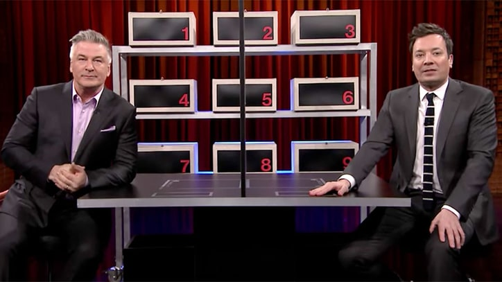 Alec Baldwin, Jimmy Fallon Do Dueling Trump Impressions on 'Tonight Show'