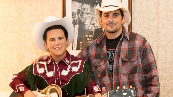 Brad Paisley Unveils Little Jimmy Dickens Figure at Opry: Ram Report