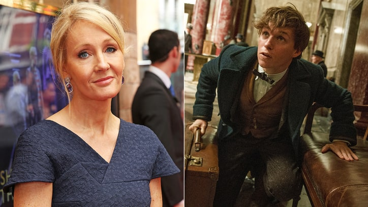J. K. Rowling Confirms 'Fantastic Beasts' as Five-Film Franchise