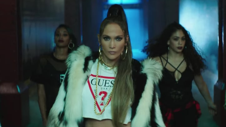 See Jennifer Lopez Throw Subway Dance Party in 'Amor, Amor, Amor' Video
