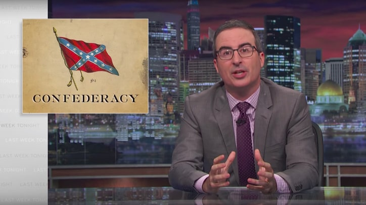 See John Oliver's Takedown of Confederate Statues on 'Last Week Tonight'