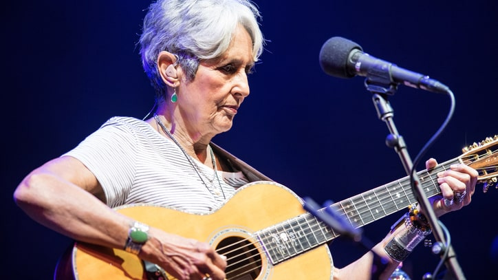 Joan Baez Talks Protest in the Trump Era: 'We're in for a Bumpy Ride'