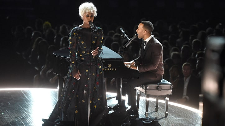 Watch John Legend Soundtrack Grammy 'In Memoriam' With 'God Only Knows'