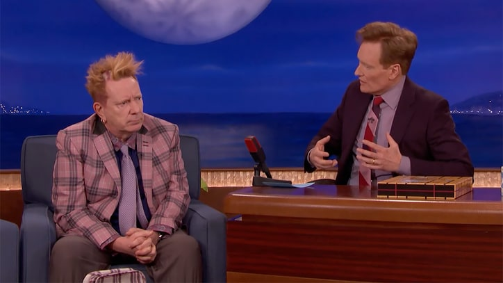 John Lydon Talks American Citizenship, Illustrated Book on 'Conan'