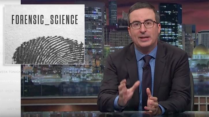 Watch John Oliver Call Out 'Bullshit' Forensic Science