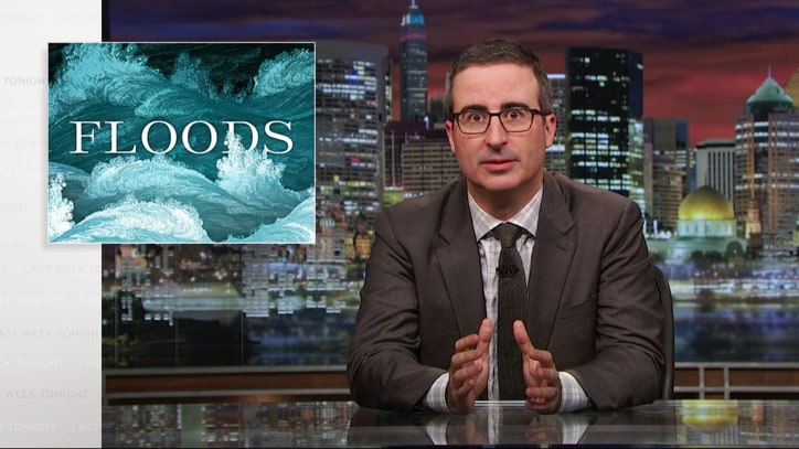 Watch John Oliver Break Down America's Flawed Flood Insurance Program